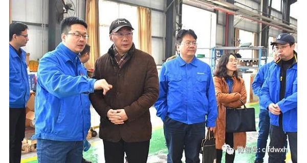 ▌长岭纺电新闻 ▌ 董事长李航考察调研纺电公司科技兴企工作