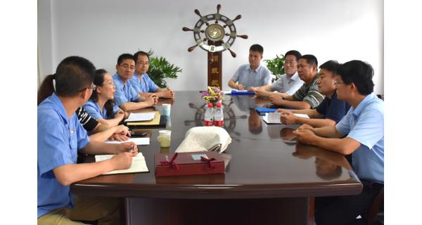 ▌长岭纺电新闻 ▌省科技厅、市科技局领导到长岭纺电调研指导