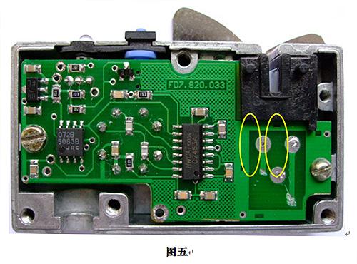 自制断线检测仪电路图
